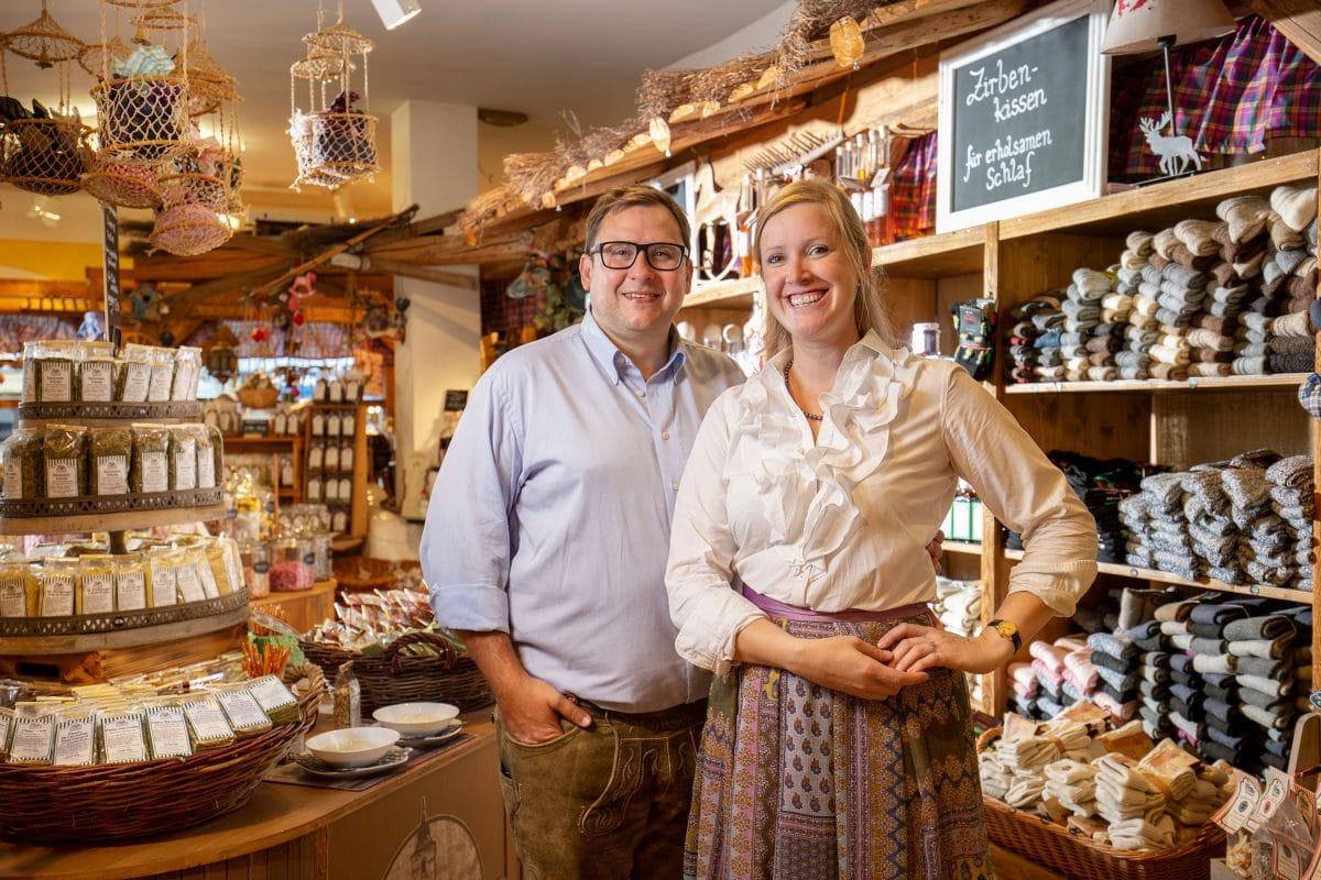 Kräuter Shop - Familie Eichenauer